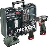 Дриль-шурупокрут Metabo PowerMaxx BS Basic + моб майстерня 63шт /600080880