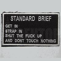 Шеврон Standart brief