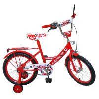 Велосипед 2-х колес 18 141801-G 1шт с подножкой, пласт.крылом, каретка Американка