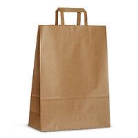 Крафт-пакет бумажный Arc 32x13x42,5 коричневый с плоскими ручками