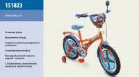 Велосипед 2-х колес 18 151805 1шт со звонком, зеркалом