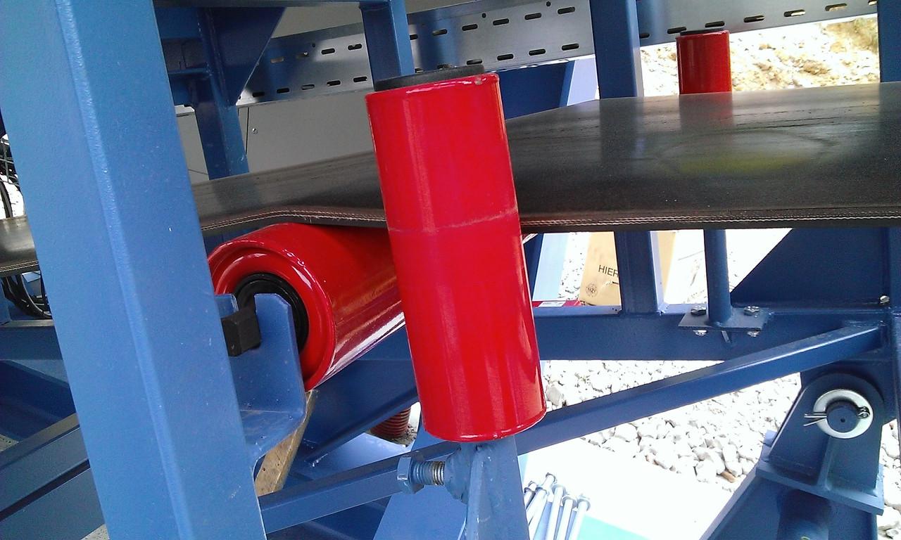 Центрирующий ролик для ленточного конвейера заказ конвейера