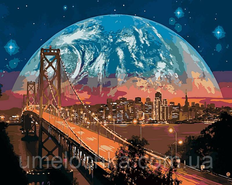 Набор для рисования Babylon Сан-Франциско 40х50 VP481