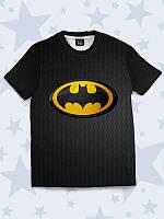 Детская 3D футболка Batman emblem3 года