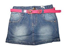 Джинсовая юбка для девочек, размеры 122, арт. G 50169