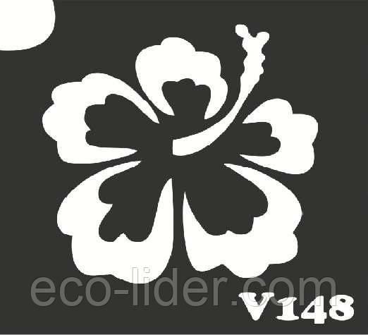 Трафарет для биотату V148, 6*6 см.