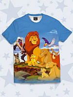 Замечательная детская футболка The Lion king с красочным 3D-рисунком.