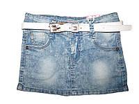 Джинсовая юбка для девочек, размеры 116,122  арт. G 50419, фото 1