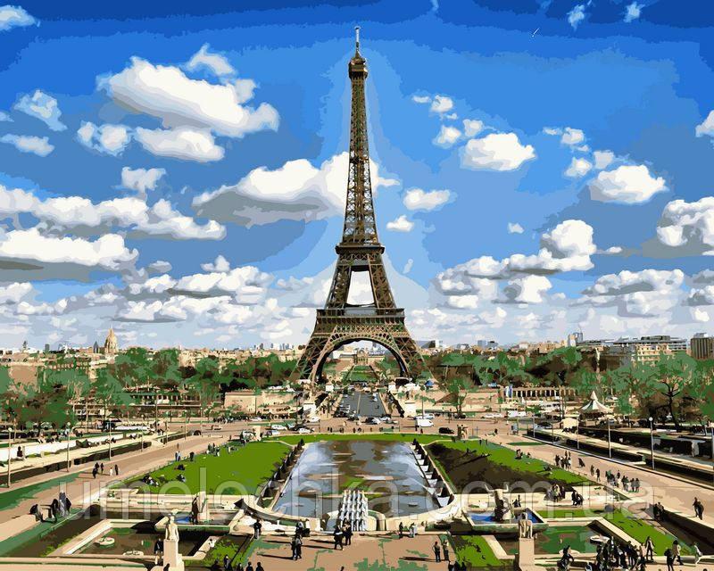 Набор для рисования Babylon Эйфелева башня весной 40х50 VP515
