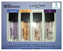 Парфумерний набір з феромонами Lancome Ланком міні 4 по 15мл топ жіночий аромат