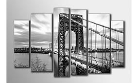 "Модульная картина на холсте ""Мост"""