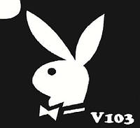 Трафарет для биотату V103, 6*6 см03