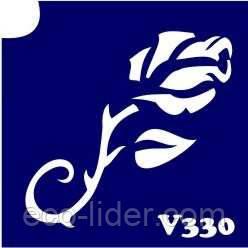 Трафарет для биотату V330, 6*6 см.