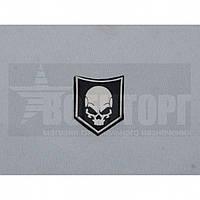 Шеврон PVC Skull 40*30