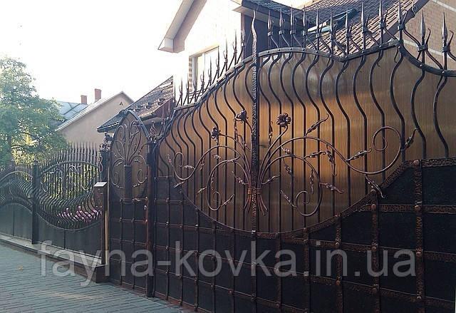 Кованные ворота 244