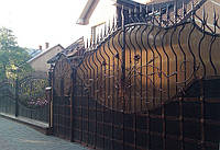 Кованные ворота 2440