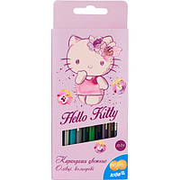 Карандаши двухсторонние HK16-054 12 цветов Hello Kitty