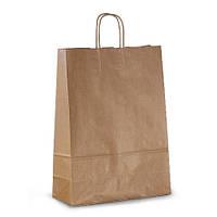 Крафт-пакет бумажный Volley 32х13х42,5 с витыми ручками