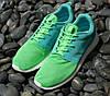 "Кроссовки женские Nike Roshe Run green ""Зеленые"" р.36-40"