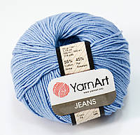 Пряжа jeans - цвет голубой