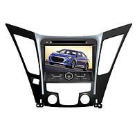 Штатная мультимедиа система DVD Hyundai Sonata New для авто с объемом 2,4 литра