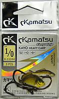 Крючок Kamatsu Kayo Heavy Carp №1/0 К-11044 (3шт)