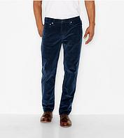 Вельветовые брюки Levis 514 Straight Fit DRESS BLUES