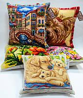 Подушки декоративные - вышивка