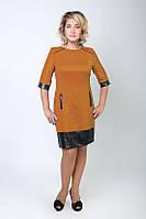 Женское платье из шлифованной шерсти