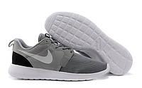 """Кроссовки мужские Nike Roshe Run Hyperfuse """"Серые"""" р. 41"""