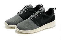 "Кроссовки мужские Nike Roshe Run Hyperfuse ""Серо-черные"" р. 40"