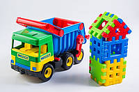 Игрушечная машинка Тигрес Middle truck с конструктором (39202)
