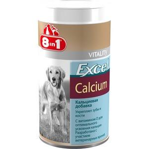 8in1  Excel Calcium - кальциевая добавка  с витамином D для собак 880таб (115540)