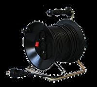 Удлинитель 50м,  5 кВт (ПВС 2х2,5, 5 кВт)