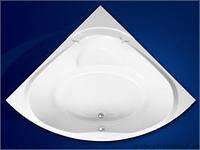 Угловая акриловая ванна Vagnerplast Athena 150х150х45см