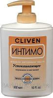 Жидкое мыло для интимной гигиены успокаивающее, 300мл, INTIMO, CLIVEN