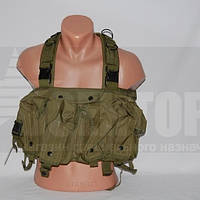 Разгрузка Tactical 4 Pouches Chest Rig Vest Olive