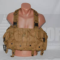 Разгрузка Tactical 4 Pouches Chest Rig Vest Tan
