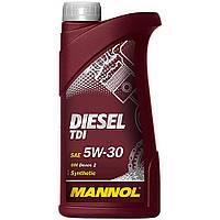 Синтетическое Моторное масло Mannol Diesel TDI 5W-30 1L