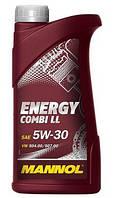 Моторное масло Mannol 5w-30 Energy Combi LL (1 л.) синтетическое
