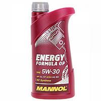 Синтетическое моторное масло MANNOL ENERGY FORMULA OP  5W-30 1L