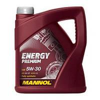 Синтетическое моторне масло MANNOL ENERGI PREMIUM  5W-30 5л