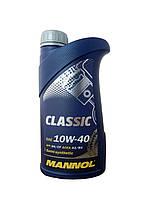 Полусинтетическое моторное масло Mannol Classic 10W-40 1L