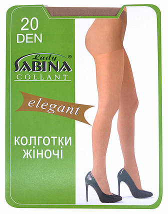 Колготки Lady Sabina 20 den Elegant Natural р.2 (Арт. LS20El), фото 2