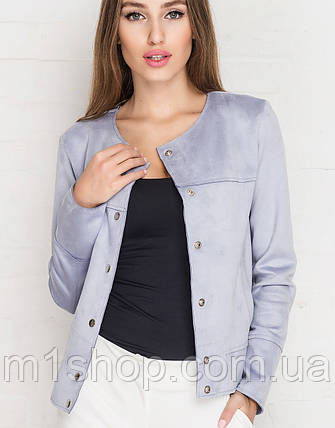 9282a602b98e Легкая женская куртка из замши (7005 sk) купить недорого Украина ...
