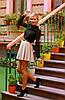 Женская блузка   Шифон однотонный sk, фото 6