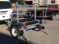 Прицеп для перевозки катушек (бухт, барабанов) для проводов. , фото 1