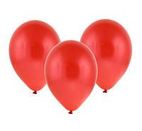Воздушный шарик 10 дюймов красный пастель