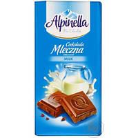Молочный шоколад Alpinella mleczna milk 90 гр
