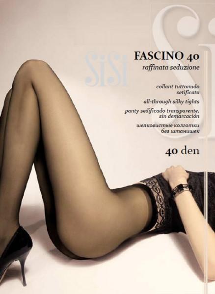 Классические колготки без шортиков Sisi Fascino 40 den